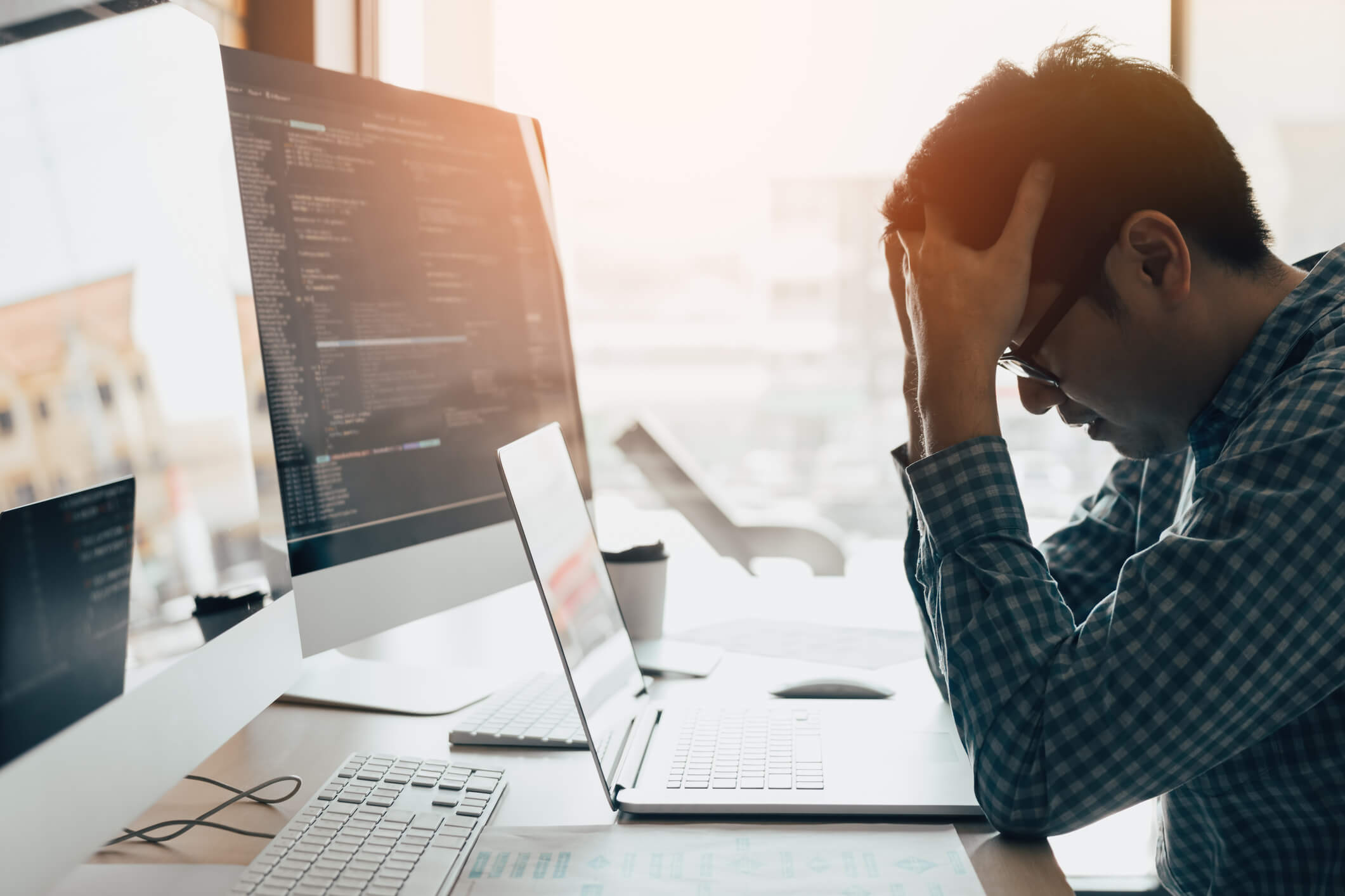 Frustrated During Software Testing
