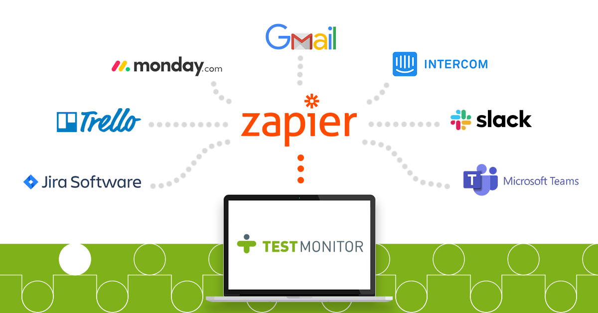 Zapier integration TestMonitor