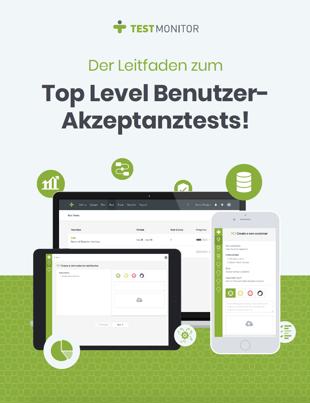 Der Leitfaden zum Top Level Benutzer- Akzeptanztests Cover