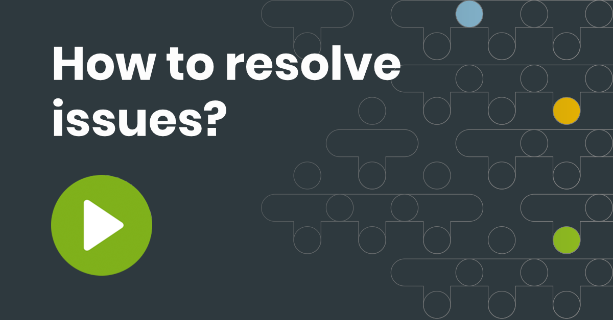 TM-How-to-resolve issues - webinar