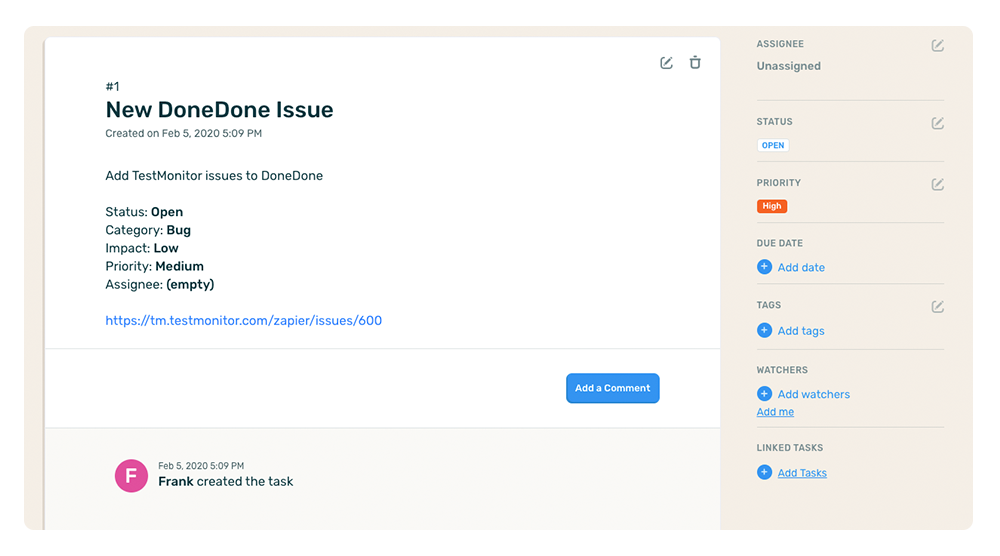 new-donedone-issue