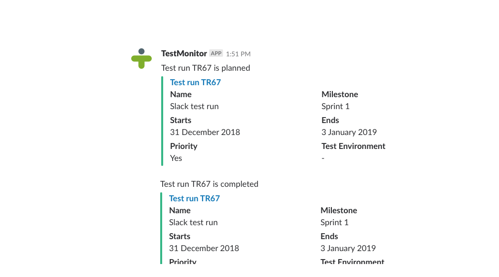 slack-testrun-notifications