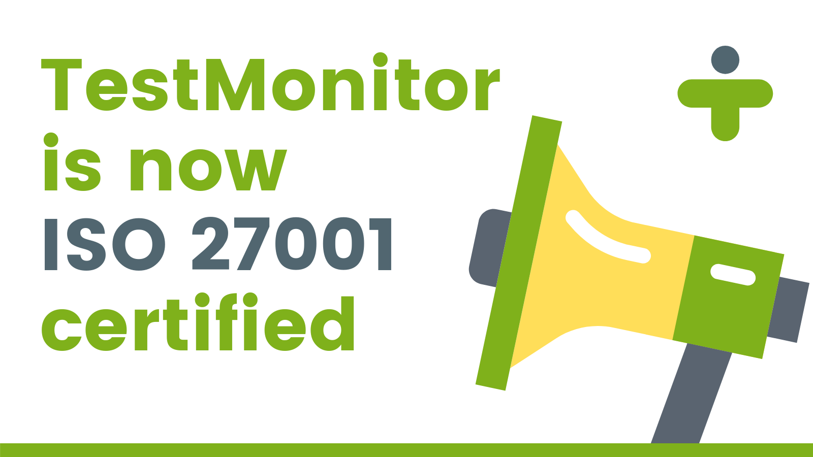 ISO 27001 Certification Announcement
