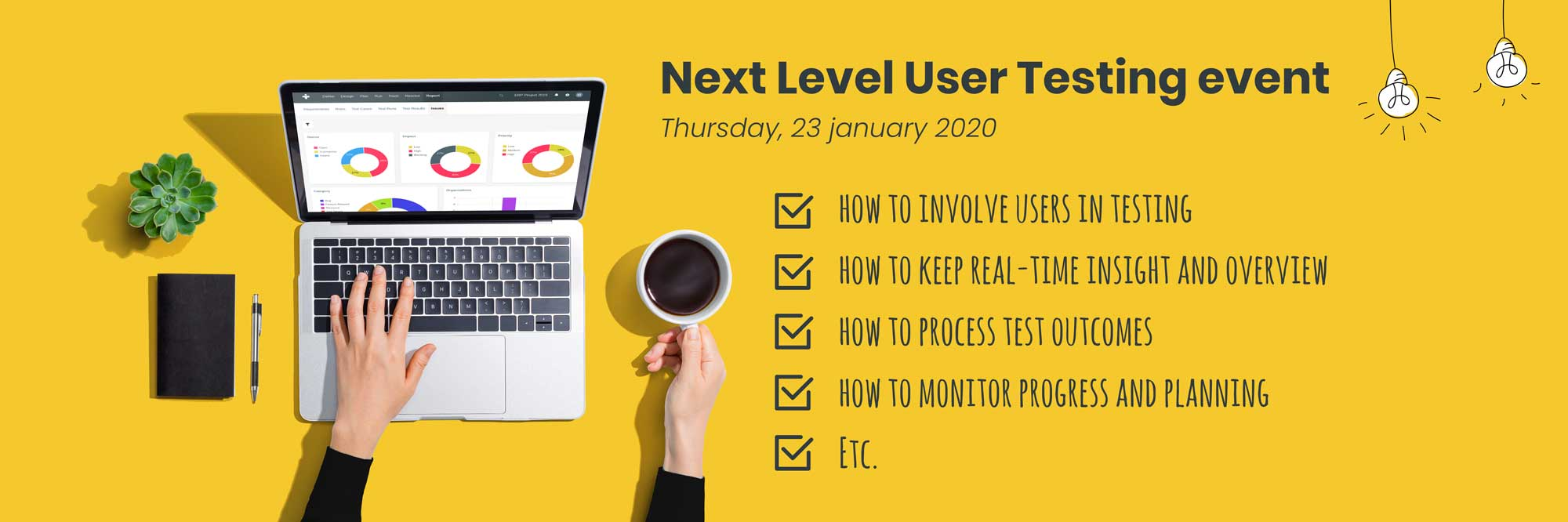 Take user testing to the next level in 2020: join our free webinar